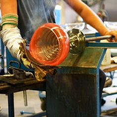 Learn that art and science of constructing objects from molten glass in this incredibly unique private glass blowing experience in New York City.