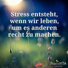 #Stress entsteht , wenn . . .