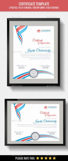 Multipurpose Certificates Template Psd Download Here Http