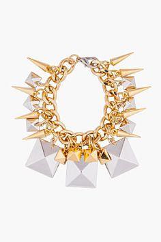 Fallon Xl Stud Charm Bracelet for women | SSENSE