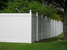 Privacy Vinyl Fencing.  Future Outdoors installs only the best.  972-576-1600 North Texas