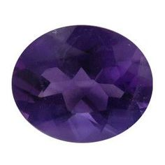 2.22 ct Oval Amethyst Deep Rich Purple -Gold Crane & Co.