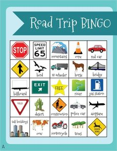 It's just a graphic of Geeky Printable Travel Bingo