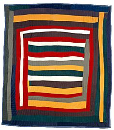 Antique Quilts, Vintage Quilts, Quilting Projects, Quilting Designs, Quilt Design, Gees Bend Quilts, Art Tribal, American Quilt, Log Cabin Quilts