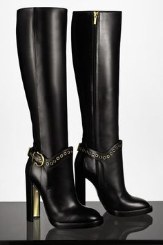 Conversation Starters: Salvatore Ferragamo boots that speak for themselves.