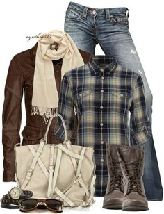 mix combination pieces together for either a casual or semi-casual look