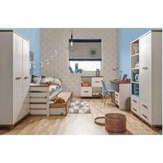 Jugendzimmer 8211 Drehturenschrank Kleiderschrank Hermann 04 Farbe Weiss Gebleicht Nussfarben Tei In 2020 Bedroom Furniture Layout Youth Room Appartment Decor