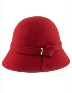 Red cloche hat.....beautiful.