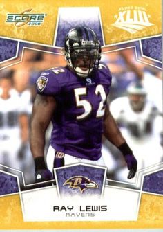 2008 Score SuperBowl Gold Parallel Edition Football Card - (Limited to 800 Made) # 27 Ray Lewis LB - Baltimore Ravens / in Protective Screw Down Display Case . $14.95. 2008 Score SuperBowl Gold Parallel Edition Football Card - (Limited to 800 Made) # 27 Ray Lewis LB - Baltimore Ravens / in Protective Screw Down Display Case