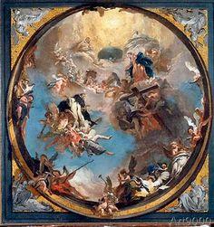 Giovanni Battista Tiepolo - Saint Dominic in Glory