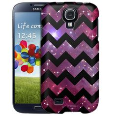 Samsung Galaxy S4 Chevron Nebula Black Slim Case