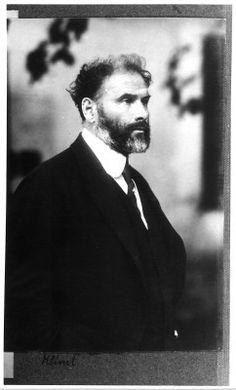 Gustav Klimt, 1917, eines der letzten Portraits, fotografiert von Moriz Nähr © Künstlerhaus Archiv