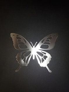 www.bg-stahl.de  Deko-Ideen - Schmetterling Typ 2 Edelstahl