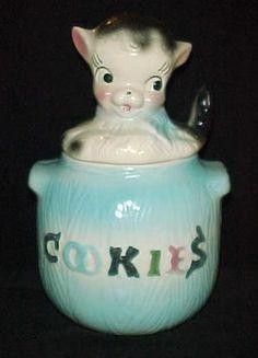 American Bisque Puppy Cookie Jar