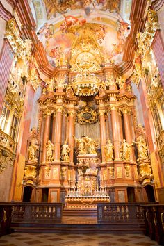 Melk Abbey in Austria #Europe #travel