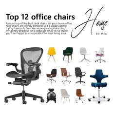 A round-up of the best desk chairs for your home office. Follow me for more in the home office series.