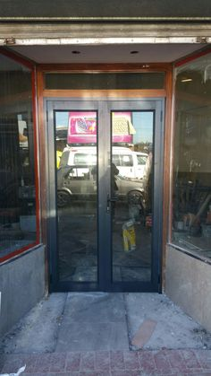 Double Shopfront Doors