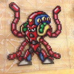Launch Octopus - Mega Man X perler beads by tyler_plurden