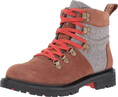 TOMS Women's Summit Boot Rawhide Suede/Grey Wool Boot 8 B (M) * Unbelievable outdoor item right here! : Hiking boots
