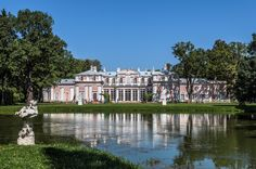 Oranienbaum, The Chinese Palace, built for Catherine the Great, is famous for its mid-XIX century landscape parks