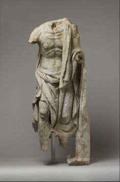 Marble statue of an old fisherman.  Period:     Imperial. Date:     1st or 2nd century A.D. Culture:     Roman.