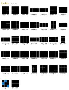 photography templates by Boka Studios