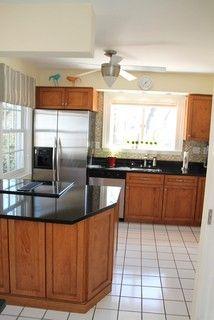 Good Craftsman Influenced Maple Kitchen With Black Granite Countertops In  Manassas, VA ~ Transformed By