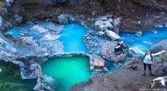 Fifth water hot springs near Spanish Fork, UT