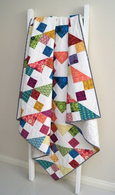Safari Stars Quilt - Ready to Ship. By Jemima Flendt, Tied with a Ribbon