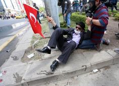 Gezi Parkı'nın simge fotoğrafları