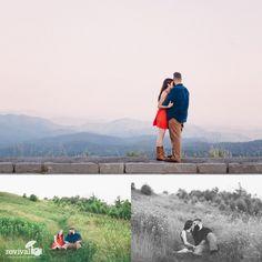 Evan + Hannah: A Blue Ridge Parkway Engagement Session by Revival Photography www.revivalphotography.com