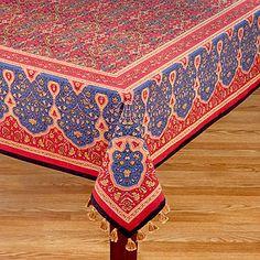 Metal Virgil Accent Table. Linen TableclothTable LinensTableclothsIndian ...