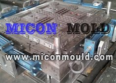 Micon Plastic Mould is a plastic mould manufacturer, specialized design and manufacturing of plastic moulds, pallet mould, pallet mold, Logistic pallet mould.