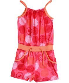 Name It Charmant Roze Jumpsuit met Grote Bollen. name-it.nl.emilea.be