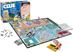 You know the classic board game, now get ready to play it with a Family Guy twist with the Family Guy Collector's Edition Clue game. The game is a Family Guy Classic Board Games, Fun Board Games, Family Night, Family Guy, Griffin Family, Clue Games, Cartoon Tv Shows, The Deed, Take My Money