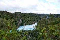 Huka Falls in New Zealand 🇳🇿 Travel Memories, New Zealand, River, Mountains, Fall, Nature, Outdoor, Instagram, Autumn