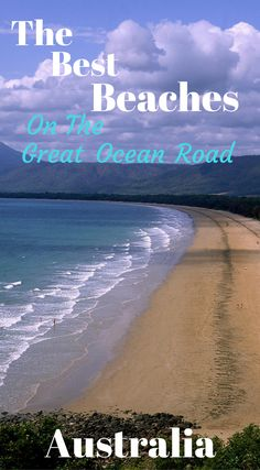 The best beaches on the Great Ocean Road in Australia. Some beaches are knowen however some are hidden to us tourist. So we have found An Aussies to give us the best guide to the best beaches on the Great Ocean Road at http://www.divergenttravelers.com/great-ocean-road-guide/