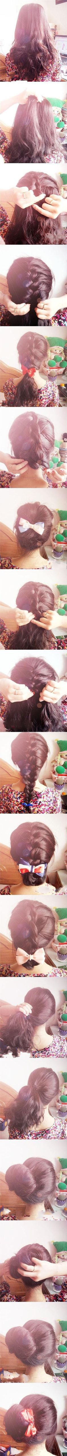 Bows and braids how-to
