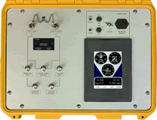 The DFW Instruments avionics test equipment is a precision test set with dual channel pressure controller, designed to provide regulated total (PT) pressure and static (PS) pressure outputs to simulate Altitude, Airspeed and Vertical Speed parameters. Instruments, Ps, Compact, Channel, Tools, Musical Instruments, Photo Manipulation