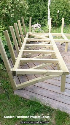 New diy outdoor lounge backyard ideas Ideas Outdoor Furniture Plans, Diy Garden Furniture, Deck Furniture, Furniture Projects, Wood Projects, Pallet Furniture, Rustic Furniture, Conservatory Furniture, Furniture Buyers