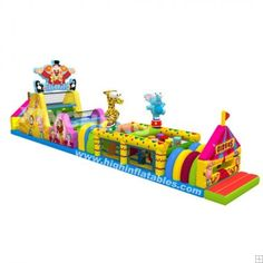 Inflatable circus obstacle course