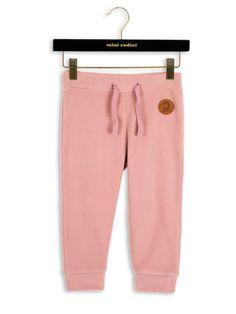 Mini Rodini – Fleece Trousers, pink