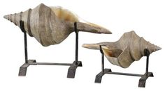 Uttermost Conch Shell Sculpture