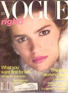 1980 Vogue Magazine Gia Carangi Lauren Hutton Venice Italy Vintage VTG Ads 80s    eBay
