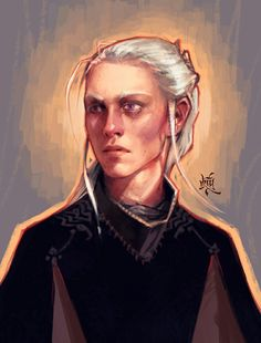 Viserys portrait by irrationalnumber