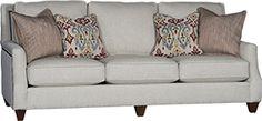 Mayo Furniture 6200 Fabric Sofa Sugarshack Mineral