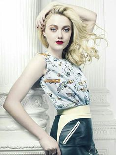 Photo of Elle Magazine Cover 2012 for fans of Dakota Fanning 28154828 Dakota Fanning, Now Is Good, Fanning Sisters, Elle Magazine, Magazine Covers, Female Stars, Covergirl, Her Style, Editorial Fashion