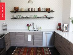 Before & After: '80s Kitchen Gets a Breath of Fresh Air