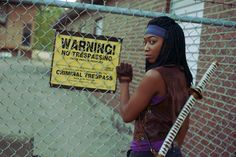 Michonne From The Walking Dead By Ariel8619 Sailor Moon/Jasmine Mashup By Mika Nicole Maleficent By Lexi Farron Strife Cosplay Sil From Species By Meg Murrderher Feel free to click on the models' names to view more of their work...