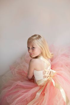Satin Ribbon Bodice Dress | 41 Flower Girl Dresses That Are Better Than Grown-Up People Dresses